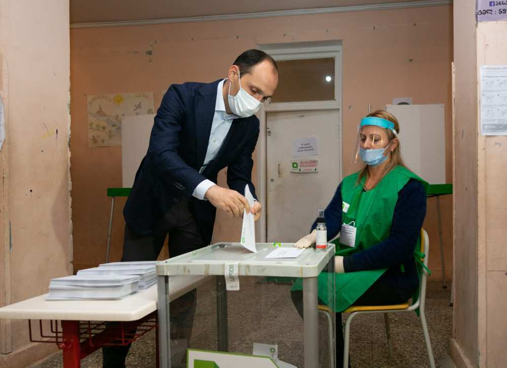 """""""I Voted for Peace and Stable Development of the Country"""" – Levan Davitashvili"""