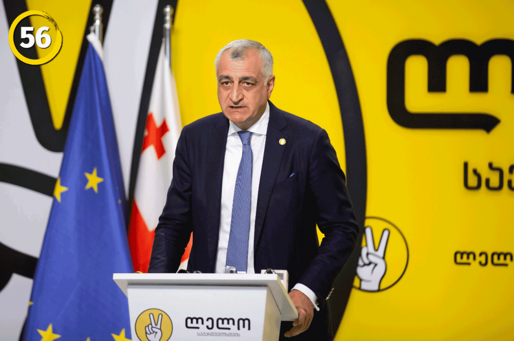 Mamuka Khazaradze: Today's Elections Are a Way to Europe and Not to Russia