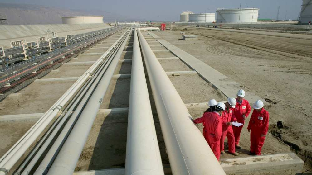 Transit Oil Transportation via BTC Drops Over 13%