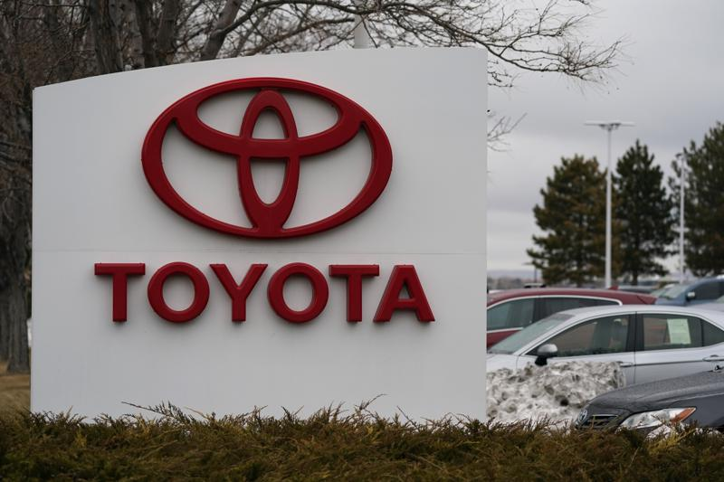 Toyota's profit doubled  in January-March