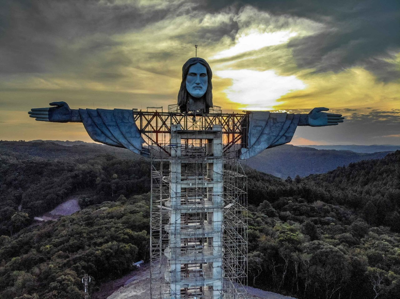 Brazil is building a new statue of Jesus -- and it's going to be bigger than Rio's