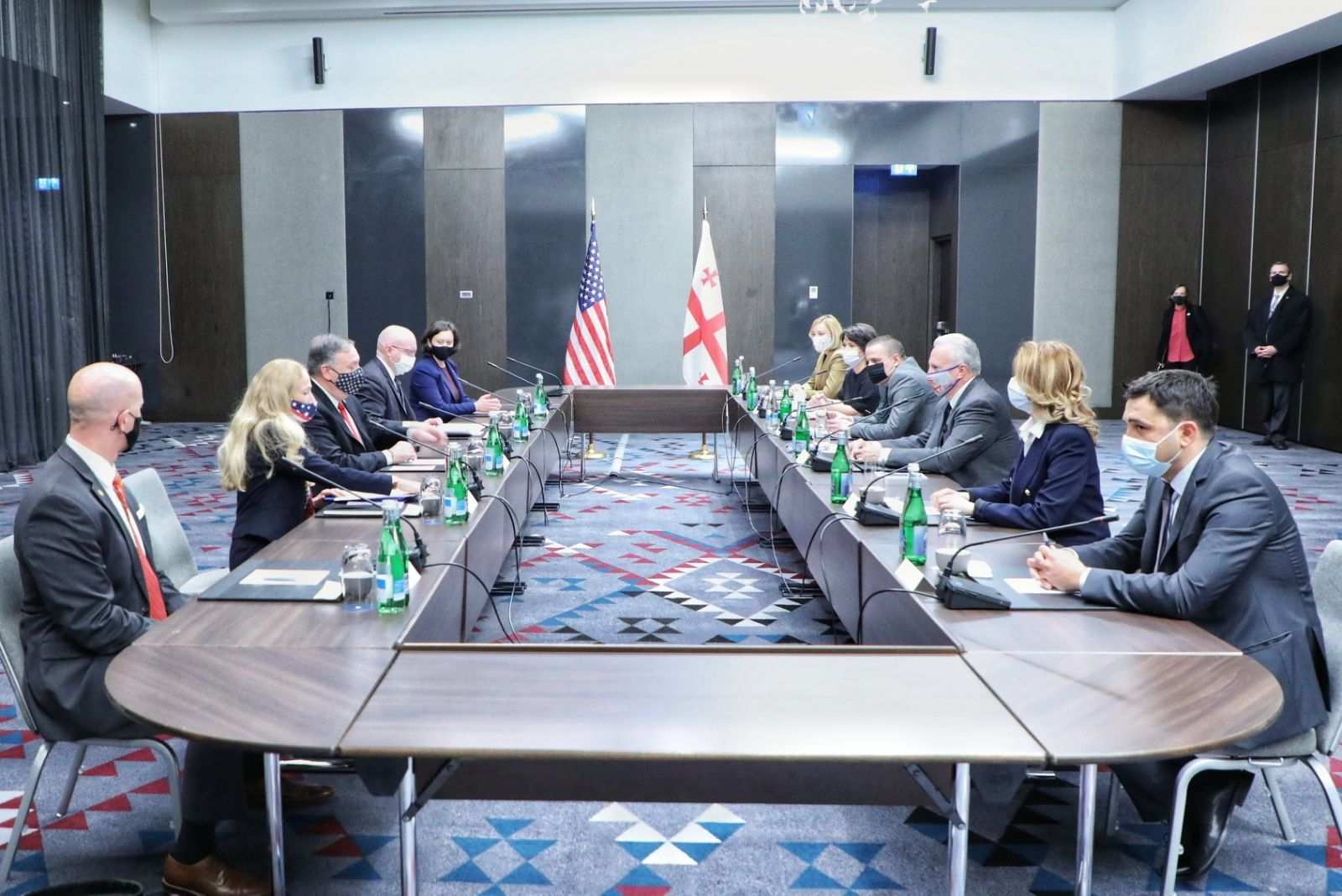 """""""Everyone Agreed That There Is Still a Lot to Do"""" – Embassy on the Meeting Between Pompeo and the Civil Sector"""