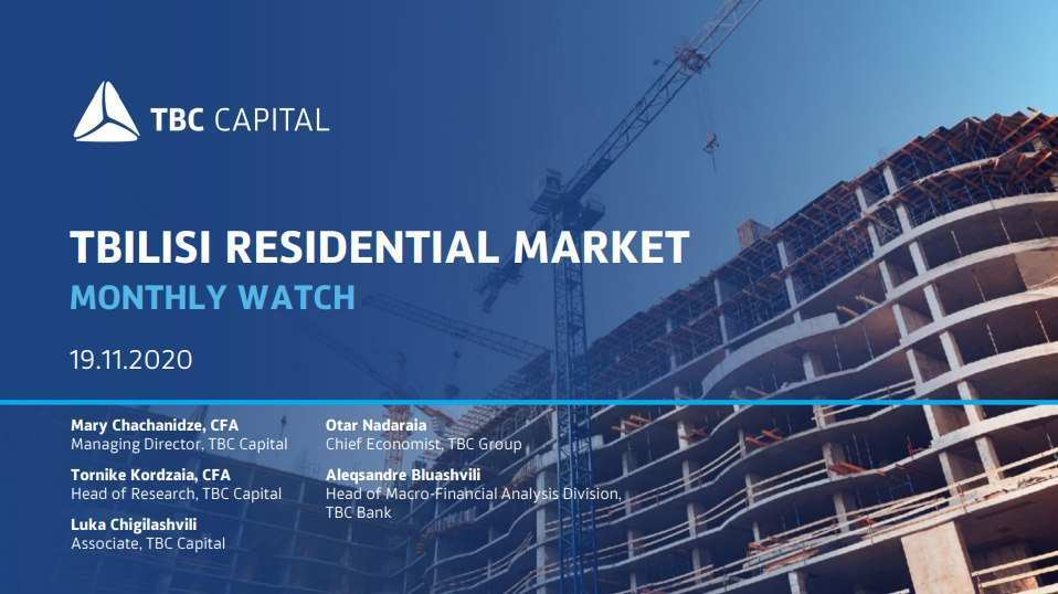Which Tbilisi Districts Show the Most Resilience Against the Decrease in Residential Sales?