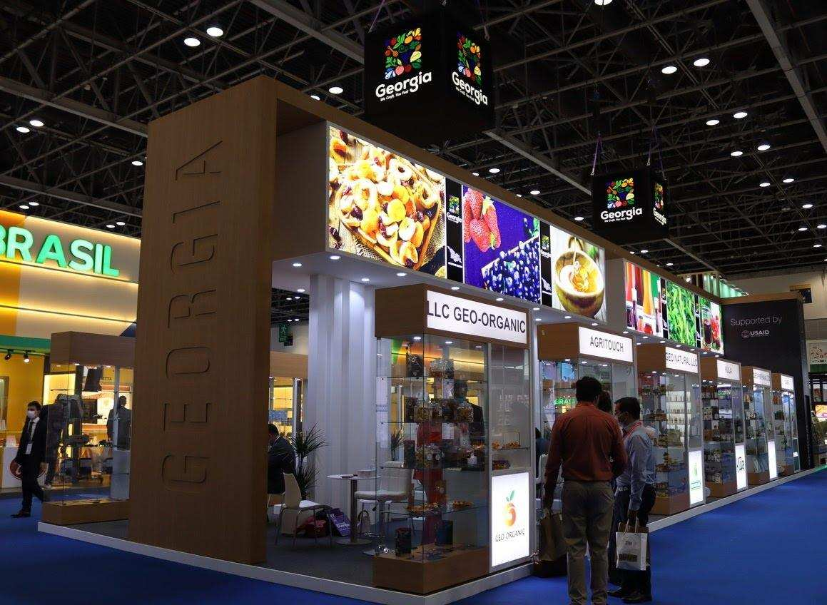 With Enterprise Georgia's support, Georgian companies are participating in Gulfood 2021