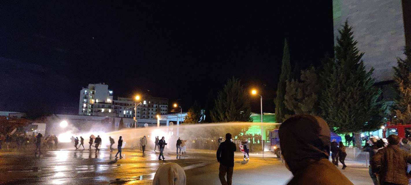 Water Cannons Were Deployed Without Any Prior Warning – EMC