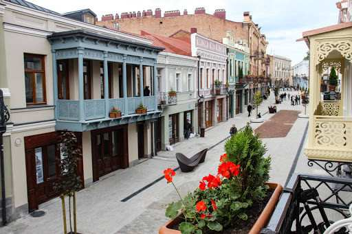What Amount Is Paid to the Budget by Traders on the New Agmashenebeli Avenue?