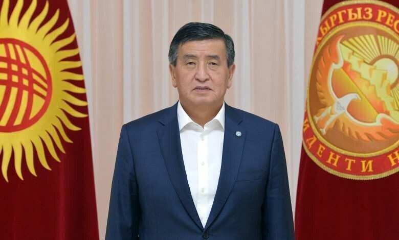 Kyrgyzstan President Sooronbay Jeenbekov Has Resigned