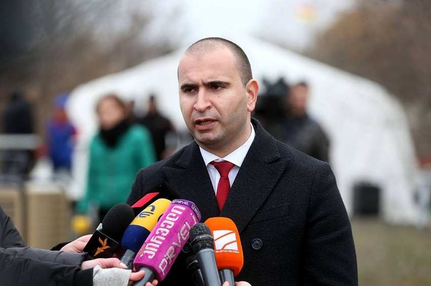 Kakha Kemoklidze has resigned from the post of the head of the government administration