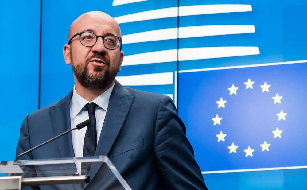 The time has come for political dialogue ... Your leadership position is needed - Charles Michel to PM