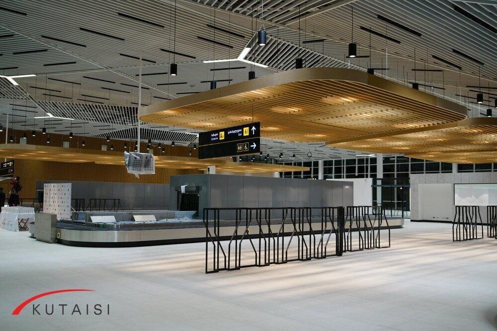 The renovated Kutaisi airport has opened for passengers
