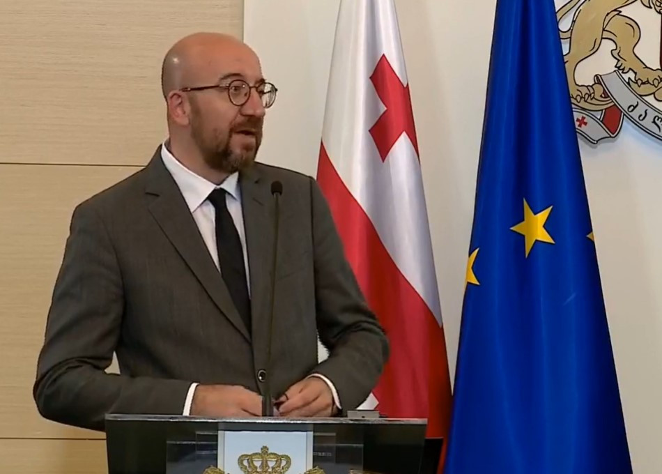 """Charles Michel: """"Reforms are what Georgia needs"""""""