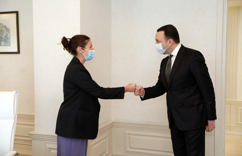 Irakli Gharibashvili met with the EBRD Regional Director