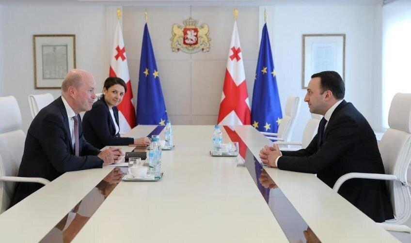 Georgian PM Met With the BP Regional Director