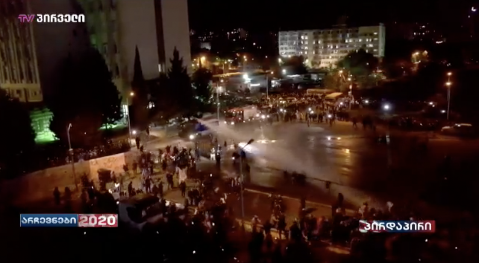 This Means Exceeding Power – Former Ombudsman on Using Water Cannons Against Protesters