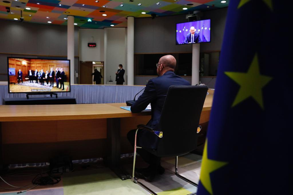 Charles Michel: Congratulations to political leaders on signing the deal out of the current crisis