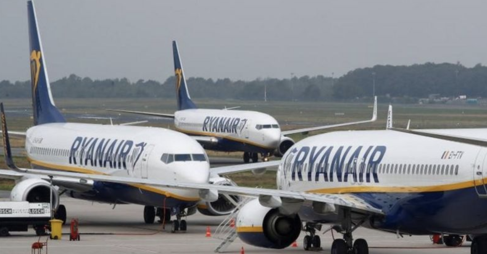 Ryanair: Full Year Traffic to Fall to About 38 Million Guests