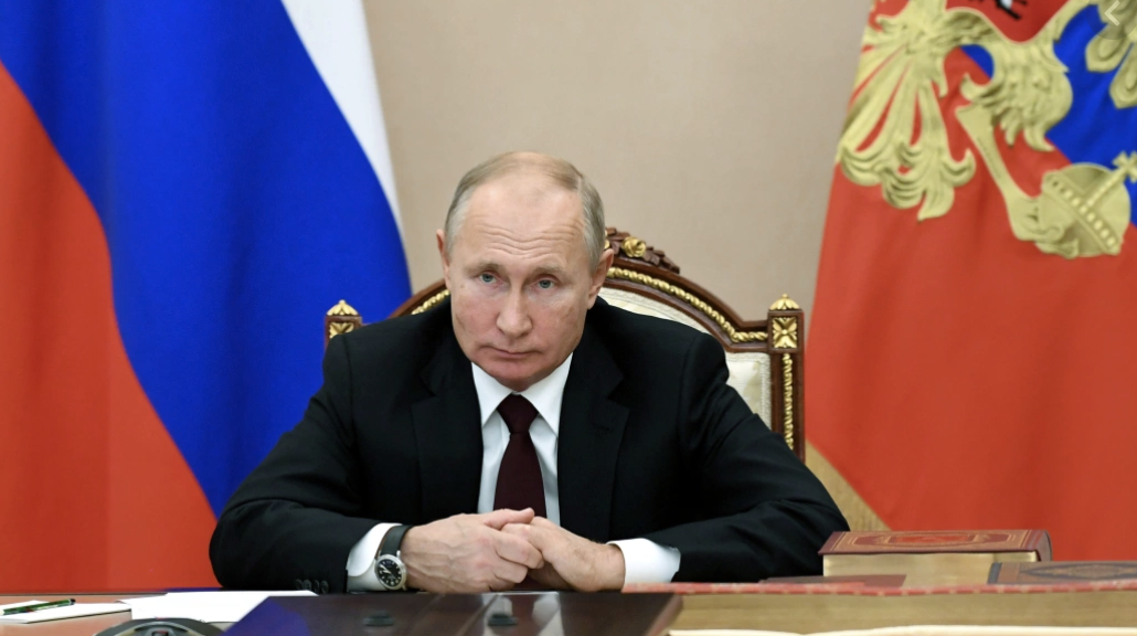Putin Says He's Unable to Recognize Biden as U.S. President