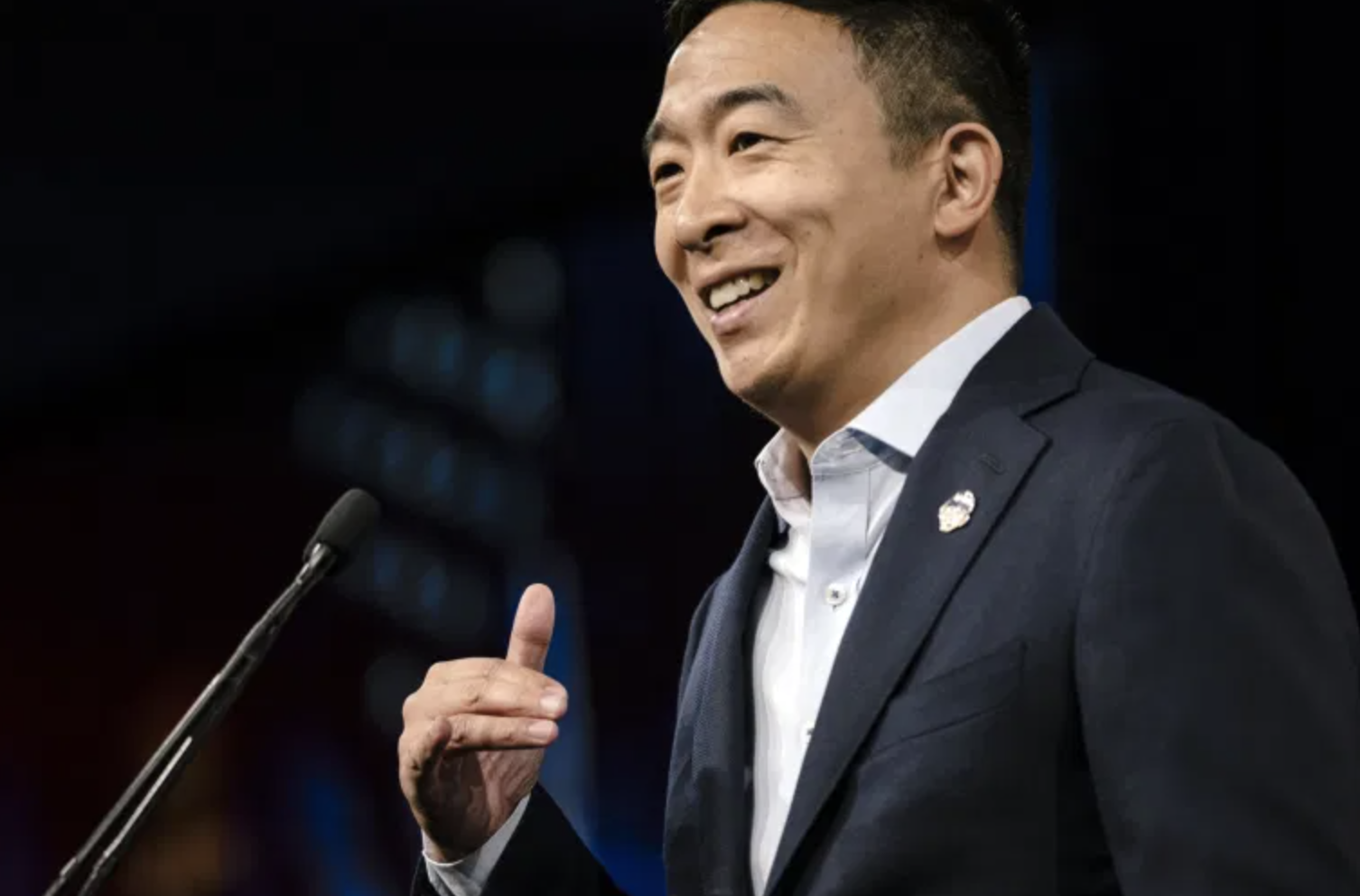 Andrew Yang Kicks Off NYC Mayoral Run With Basic Income Promise