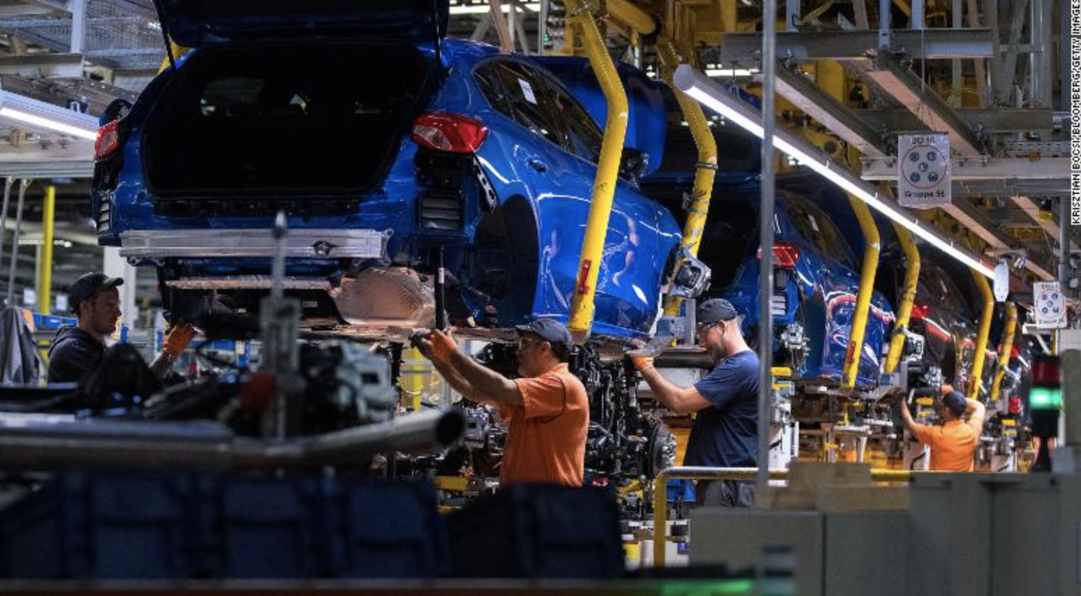 Ford Closes German Plant for 1 Month