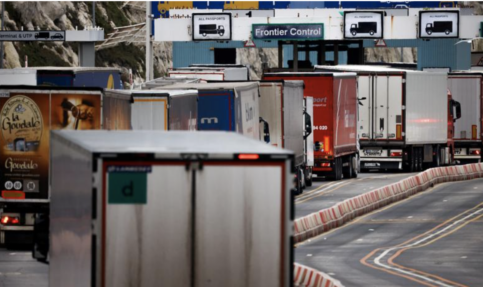 Exports From UK to EU Down 68% Since Brexit Trade Deal, Say Hauliers