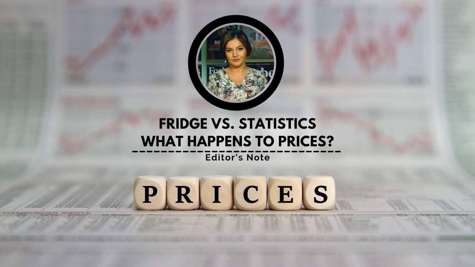 Fridge vs. Statistics: What Happens to Prices?