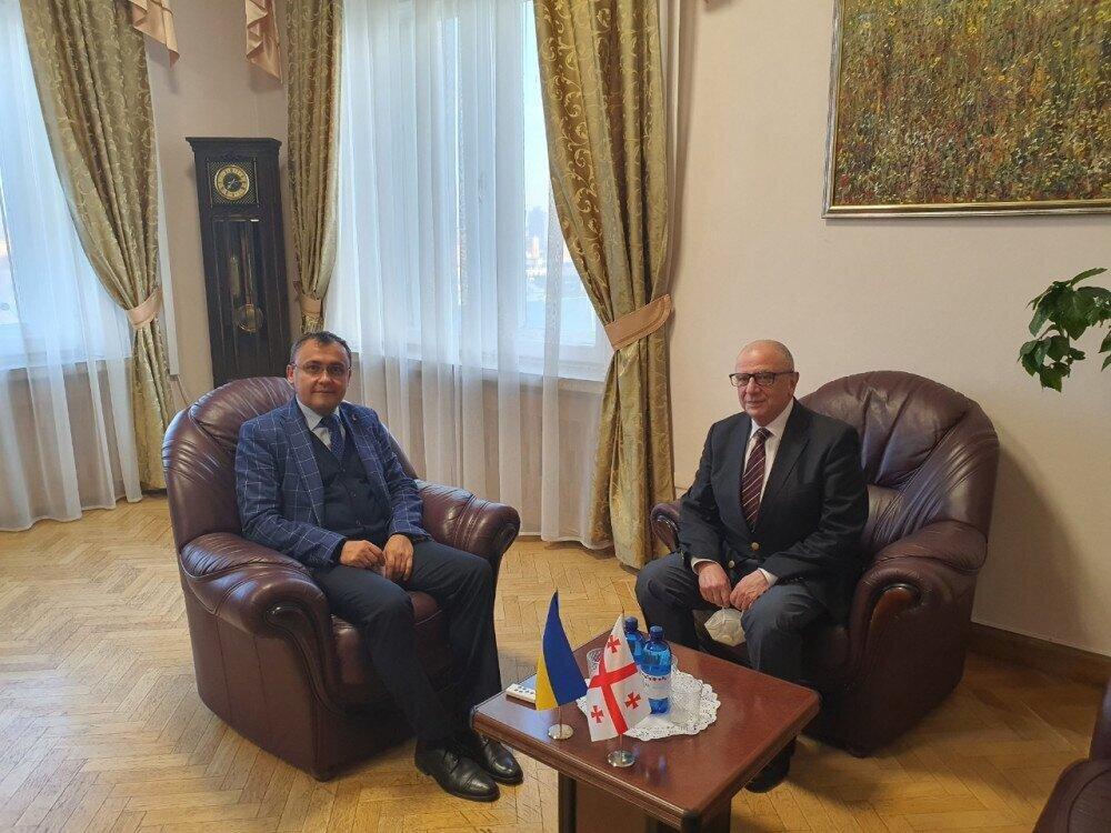 Georgia has returned the Ambassador of Georgia to Ukraine