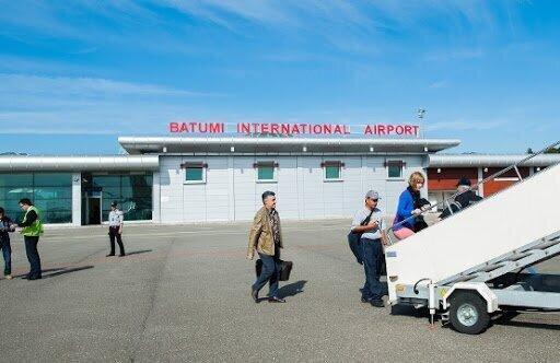The new terminal opens at Batumi Airport