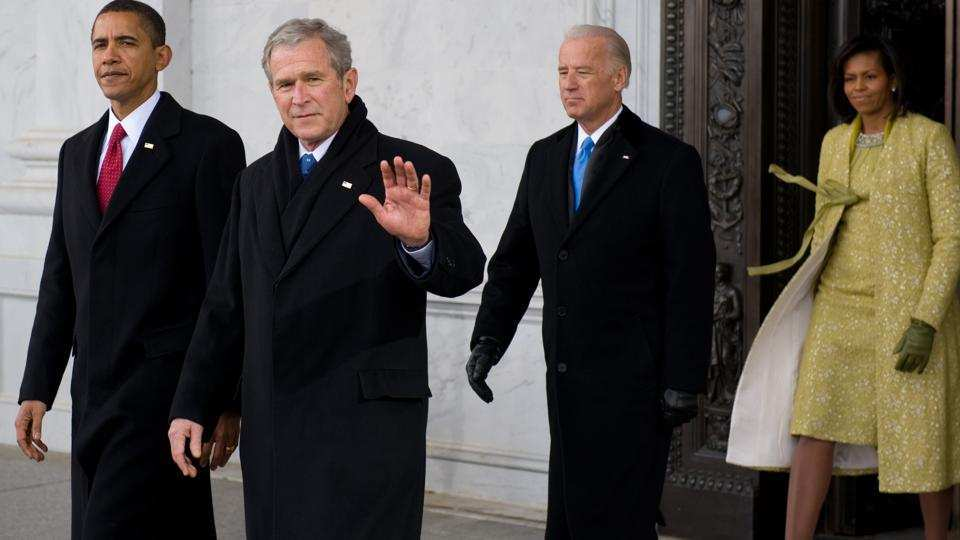 George W. Bush Congratulates Biden on Victory, Rejects Trump's Claims on Fraud