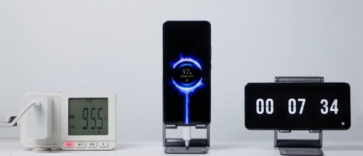 Xiaomi Sets A Record: Fully Charge a Phone in Eight Minutes