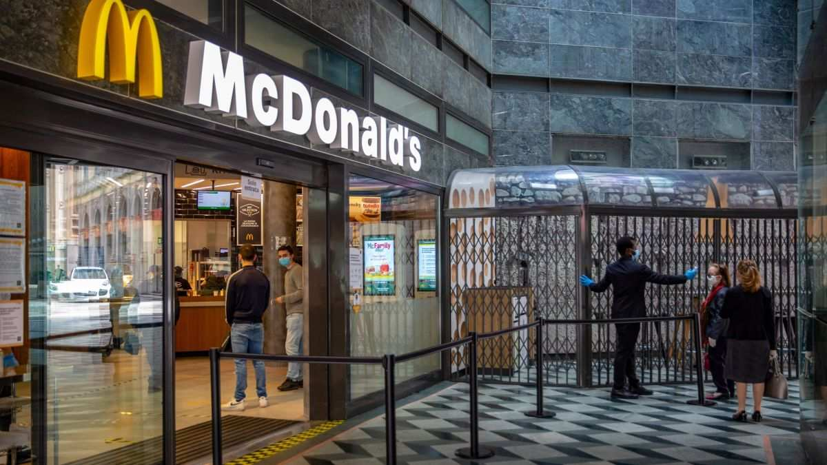 McDonald's Sales Took a Hit From Covid-19 Restrictions
