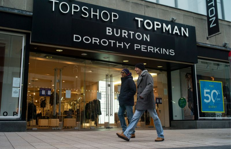 Topshop and Topman Management Company Announced Bankruptcy