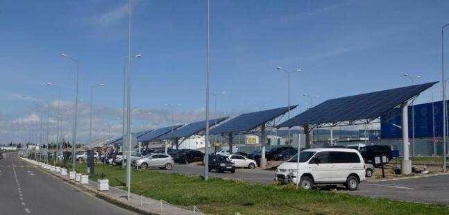 კავკასიის რეგიონში პირველად, თბილისის აეროპორტი მზის ელექტროენერგიის მოხმარებას იწყებს