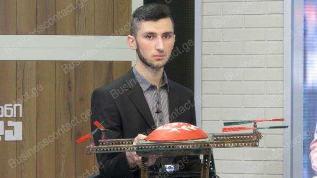 ქართველმა სკოლის მოსწავლეებმა გამნაღმველი მოწყობილობა Life saver-ი შექმნეს