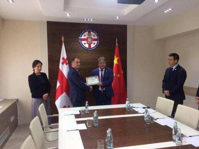 საქართველო-ჩინეთის მეგობრობის ასოციაციამ საპატიო პრეზიდენტი აირჩია