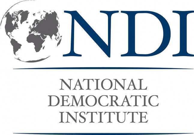 დღეს, NDI მედიას საზოგადოებრივი აზრის კვლევის პოლიტიკურ ნაწილს წარუდგენს