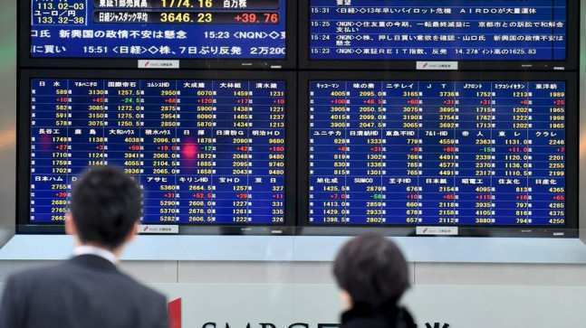 ამერიკული გავლენა აზიის საფონდო ბირჟებზე