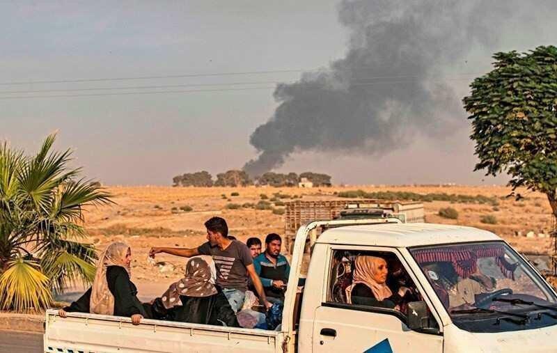 სირიის ქალაქებს მოსახლეობა ტოვებს- თურქეთის ავიაიერიშების შემდეგ ქვეყანაში პანიკაა