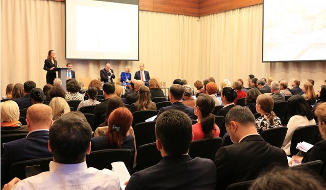 ეროვნული ბანკი ფინანსური განათლების თემაზე მაღალი დონის საერთაშორისო შეხვედრას მასპინძლობს