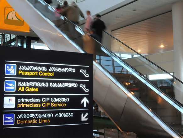 Georgian airports served 4,555,673 Passengers in 10 Months, Growth is 4%