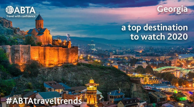 ABTA Names Travel Trends 2020 - Georgia is surprising destination, easily accessible from the UK