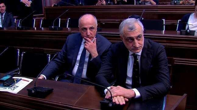 Today, substantial hearing of Mamuka Khazaradze and Badri Japaridze's case is underway