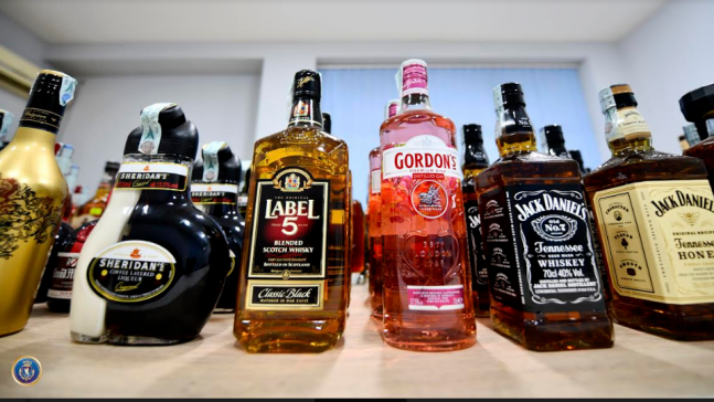 One entrepreneur on the fact of storage and sale non-excised alcoholic drinks has been disclosed