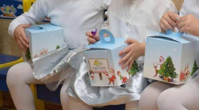 თბილისში საბავშვო ბაღების აღსაზრდელებისთვის საახალწლო საჩუქრებს