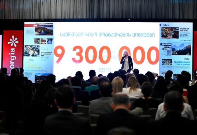 თურნავა: წელს უპრეცედენტო შედეგს მივაღწიეთ - საქართველომ რეკორდულ 9,3 მლნ. საერთაშორისო მოგზაურს უმასპინძლა