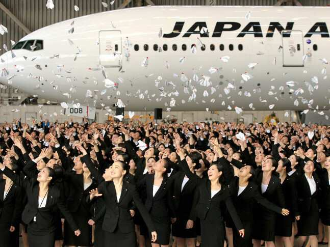 იაპონიის ავიახაზები 50 000 უფასო ავიაბილეთს არიგებს