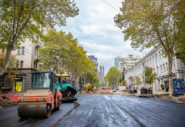 ჭავჭავაძის გამზირზე 8 იანვრიდან სამუშაოები განახლდება - იცვლება ტრანსპორტის მოძრაობის სქემა
