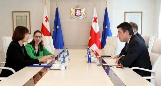 Giorgi Gakharia has met with Elizabeth Rood
