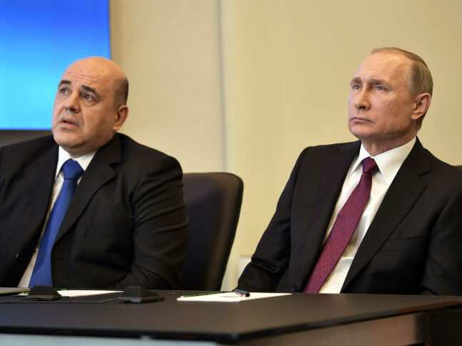 Putin nominates Federal Tax Service head Mikhail Mishustin to become Russia's prime minister