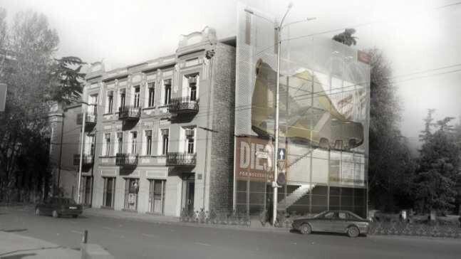 Lasha Papashvili's hotel