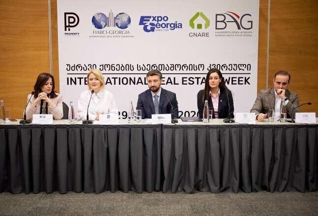 საქართველოს ბიზნეს ასოციაცია საქართველოში უძრავი ქონების პირველი საერთაშორისო კვირეულის პარტნიორი გახდა